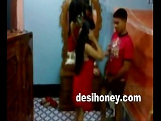 Sexy Indian Young Wife Giving Blowjob To Her Husband www.desihoney.com